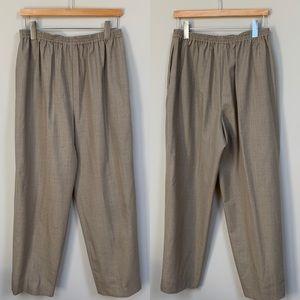 Eskandar Light Wool Trousers (need repair)
